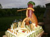 Slaný dort rybář recept