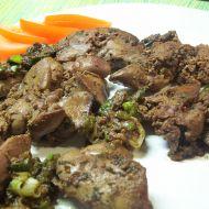 Kuřecí játra na bylinkách recept