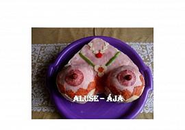 Slaný dort  prsa recept