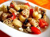 Těstoviny s bazalkovým tofu recept