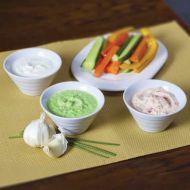 Trio dipů k zelenině recept