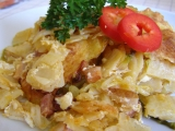 Těstoviny zapečené s kapustou recept