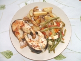 Amur na zelenině recept