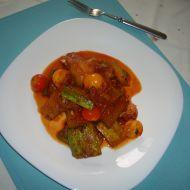 Cuketové ragú s rajčaty recept