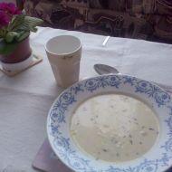 Pórková polévka s tymiánem recept