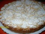 Jablečný koláč z oříškového těsta recept