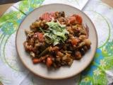 Zeleninová pánev s houbami / dietni recept