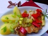 Přírodní kotlety se zeleninou recept