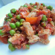 Sójová čína s rajčaty recept