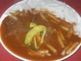 Maďarský guláš z hovězího masa recept