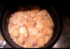Zapečené brambory se smetanou :) recept