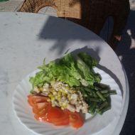 Kuřecí řezanka s nivou recept