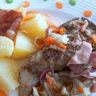 Amur se slaninou recept