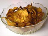 Sušené batáty s medvědím česnekem recept