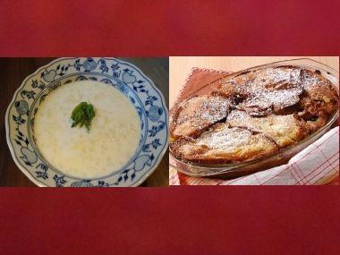 Oběd 28  Mléková polévka a zemlbába