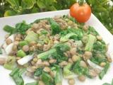 Čočkový salát s mangoldem recept