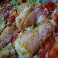 Dietní kuřecí na zelenině recept
