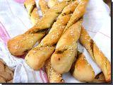Kynuté tyčky s mangoldovým pestem recept