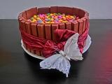Kit kat dortík recept