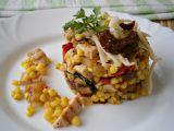 Salát z grilovaného masa a zeleniny, s tarhoňou recept ...