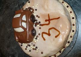 Autíčko  dort recept