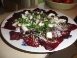 Katalánský salát z červené řepy recept