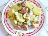 Bramborový salát s klobásou recept