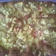 Ovocný koláč s tvarohem recept
