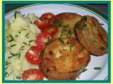 Cuketa s pestem  dělená strava (kytičky) recept