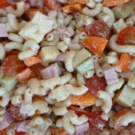 Zeleninový těstovinový salát recept