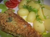 Filety ve špenátovo-česnekovém těstíčku recept