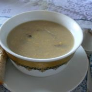 Mléčná polévka s houbami recept