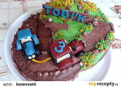 Dort s traktory pro Tobíka recept