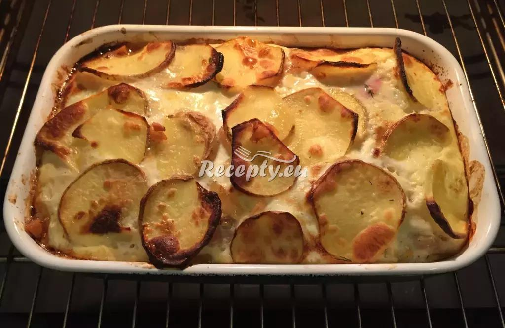 Francouzské brambory recept  bramborové pokrmy