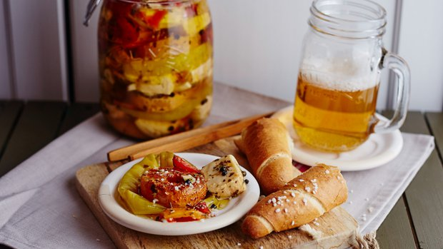 Olomoucké tvarůžky a zrající sýry naložené v pivě