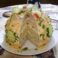 Chlebový dort recept
