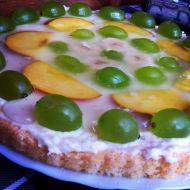 Piškotový dort s letním ovocem recept