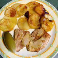 Vepřové maso zapečené s brambory ala Živánská recept
