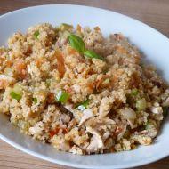 Kuskus s drůbežím masem a zeleninou recept