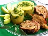 Vepřové roládky s jablkovou náplní se šalvějí recept