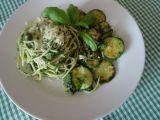 Zelené špagety recept