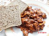 Houby po maďarsku recept