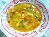 Barevná polévka recept