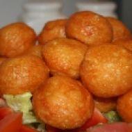 Pečené kuličky se sýrem recept