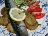 Makrela v alobalu recept