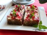 Rebarborový koláč s tvarohem recept