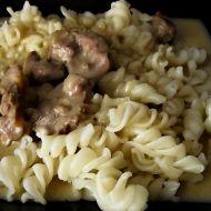 Kuřecí žaludky na paprice recept