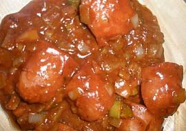 Špekáčky  kečupáci recept