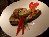 Steak z čerstvého mečouna recept