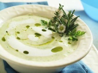 Brynzová polévka s bramborem